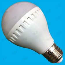 2x 6W LED GLS Globe Bajo Consumo 6500K Luz Natural Blanca Bombilla Rosca ES E27