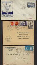 FRANCE 1900 1950s INTERESTING COLLECTION OF 15 COMMERCIAL COVERS INCLUDING 4 DIF