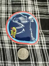 VENICE Badlands Olde school Pool rider 1978 Powell BONES Skateboard sticker