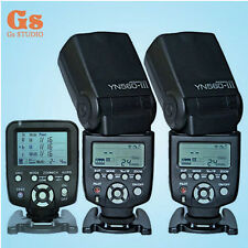 Yongnuo YN560-TX LCD Wireless Flash Controller + 2pcs YN560 III Flash For Canon