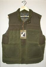 FILSON CRUISER DOWN VEST MEN'S XL GREEN NEW WITH TAGS ORIG. $375 MADE IN CANADA