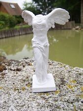 RE0015   FIGURINE STATUETTE REPRODUCTION 20 CM SAMOTHRACE  STYLE ALBATRE LOUVRE