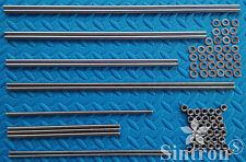 3D Drucker Smooth & Threaded Rods + Nuts Kit Rework Shaft for Reprap Prusa i3
