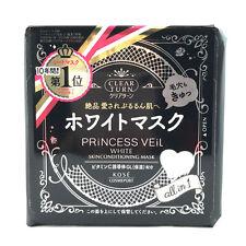 *US TRACK*Kose Cosmeport Princess Veil White Skin Conditioning Mask/Whiten-46pcs