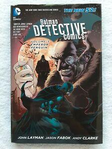Batman: Detective Comics Vol.3: Emperor Penguin (DC, 2014) 9.2 NM- Hardcover