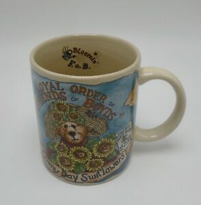 The Boyds Collection Ltd.Bearware Pottery Fonctionne Tasse 1998 Sunny Jour