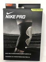 New Nike Pro RED Elbow Sleeve MEDIUM Support Training Workout Compression #37