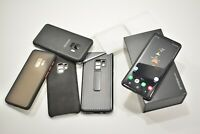 UNLOCKED Samsung Galaxy S9 64GB Midnight Black Bundle SM-G960F Good Condition