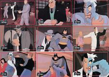 BATMAN ANIMATED SERIES 2 1993 TOPPS COMPLETE BASE CARD SET OF 90 DC