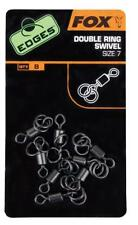 Fox Edges Double Ring Swivel CAC495 Wirbel Ringwirbel Swivels Ringswivel