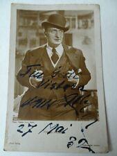 Autogrammkarte Hans Albert Ross-VerlagNr. 5457/1 vom 27. Mai 32 für Gerte Vistar