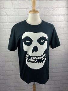 Misfits Shirt Big Skull Logo Large Vintage 2007 Double Sided Tee