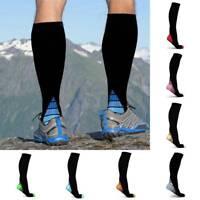 Unisex Compression Knee Mid Calf Stockings Leg Socks Relief Pain Support Socks
