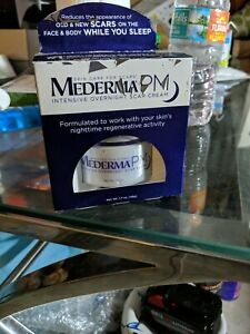 Mederma PM Intensive Overnight Scar Cream Face Body While you sleep 1.7oz (48g)