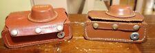 2 Argus C3 35mm Rangefinder Film Cameras Body -1 hot shoe -BOGO DEAL W/CASES
