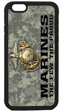 USMC Camouflage Marine Corps iPhone 4 4s 5 5s 5c 6 6 Plus Case  proud