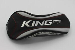 Cobra KING F9 Speedback Fairway Wood Headcover Black/White/Red