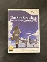 The Sky Crawlers Innocent Aces - Nintendo Wii Game UK PAL Rare Release FAST POST