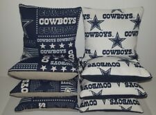 SET OF 8 ALL WEATHER DALLAS COWBOYS CORNHOLE BAGS ***FREE SHIPPING***