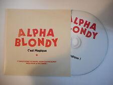 ALPHA BLONDY : C'EST MAGIQUE [ CD SINGLE PORT GRATUIT ]