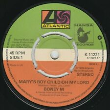BONEY M - Mary's Boy Child / Oh My Lord - EXCELLENT CON - *LISTEN* - Christmas