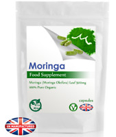 Pure Moringa Oleifera Powder 500mg (30/60/90/120/180 Capsule) Metabolism, UK (V)