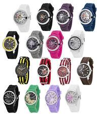 Ed Hardy Unisex Men Women Jelly Analog Quartz Waterproof Sports Wrist Hand Watch