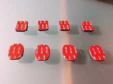 Soportes adhesivos 4 curvos + 4 planos 100% originales  GoPro Modelo: AACFT-001