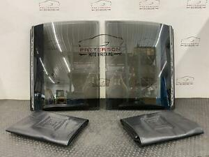 1985 BUICK REGAL LEFT & RIGHT T TOP PAIR OF ROOF GLASS WITH GM STORAGE BAGS