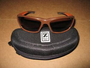 Zeal Boundary Brown and Orange Polarized Sunglasses