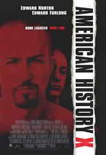 AMERICAN HISTORY X Movie POSTER 11x17 C Edward Norton Edward Furlong Fairuza