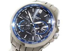 Auth CASIO Oceanus Manta OCW-S2400/OCW-S2400-1AJF Men's Wrist Watch 390897