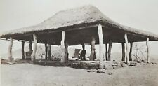 1928 B/W Photograph. Thatched Open-Walled Building Shelter/ Rhodesia/ Africa #67