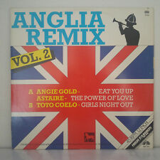 "Various – Anglia Remix Vol. 2 - Vinyl, 12"", Single, Partially Mixed, 45 RPM"