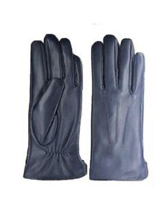 Womens Genuine Nappa Sheepskin Leather Lined Gloves