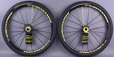 Mavic CrossMax SL SSC Pro LTD 27.5 650B Thru axle & QR MTB DEMO Wheelset & Tires