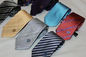 Versace Men's Medusa 100% Silk Tie Brand New Made in Italy Choose Styles $195