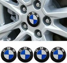 4x Bmw Emblem Logo Badge Hub Wheel Rim Center Cap 68mm Set Of 4 Covers Us