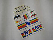 Corgi 201 - Austin Mini 1000 - Stickers & Water Slides - B2G1F