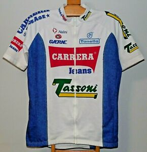 Carrera Tassoni Nalini 1994 Gaerne Vintage Cycling Jersey Shirt