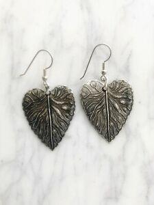 Leaf Earrings Plant