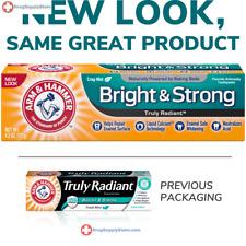 Arm & Hammer Truly Radiant Whitening Enamel toothpaste, Fresh Mint 4.3 oz