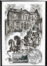 France - PREMIER JOUR - CP.Journée du Timbre - Oblitéré - 8.3.1952.C/35.eu. TTB.