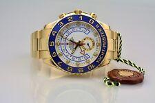 Rolex YACHTMASTER II 116688 Regatta unpoliert neuertig Rehaut & Scheckkarte