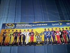 NASCAR-SPRINT CUP SERIES-2015  ALL-STAR RACE POSTER-NEW - 30TH ANNIVERSARY