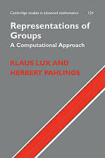 Representations of Groups: A Computational Approach (Cambridge Studies in Advanc