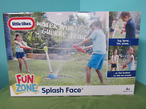 Little Tikes Fun Zone Splash Face Outdoor Pool Summer Fun Toy Kids Game Tug War