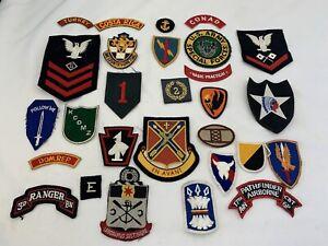 29- original US military Patches
