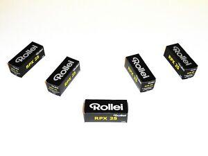 3 x Rolls ROLLEI RPX 25 Black & White NEG Film--120 MED. FORMAT--expiry: 11/2022