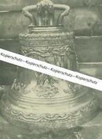 Münsing - Glocke der Pfarrkirche - Glockenabnahme zu Kriegszwecken 1917